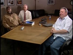 Kris Jones, left; Ron Steele, middle; Larry Bathen, right