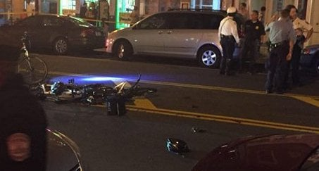 DC police: 2 officers, transportation employee hit vehicle