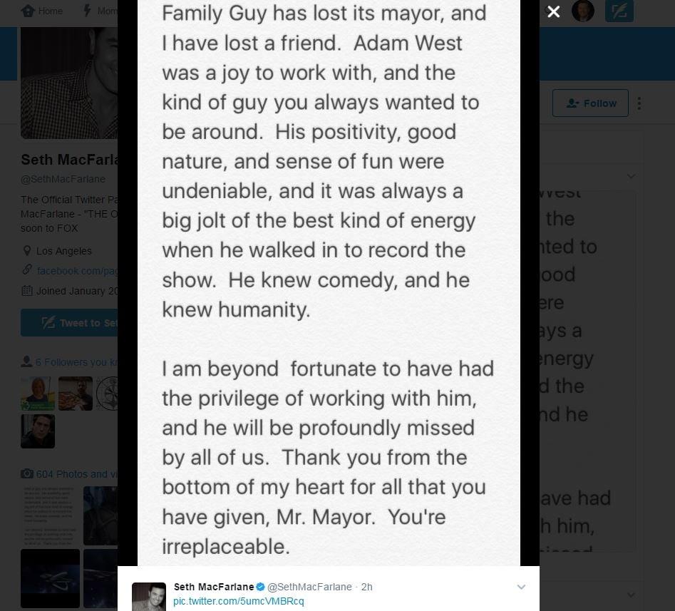 Batman Actor Adam West Has Died, Twitter Salutes The Legend #RIP