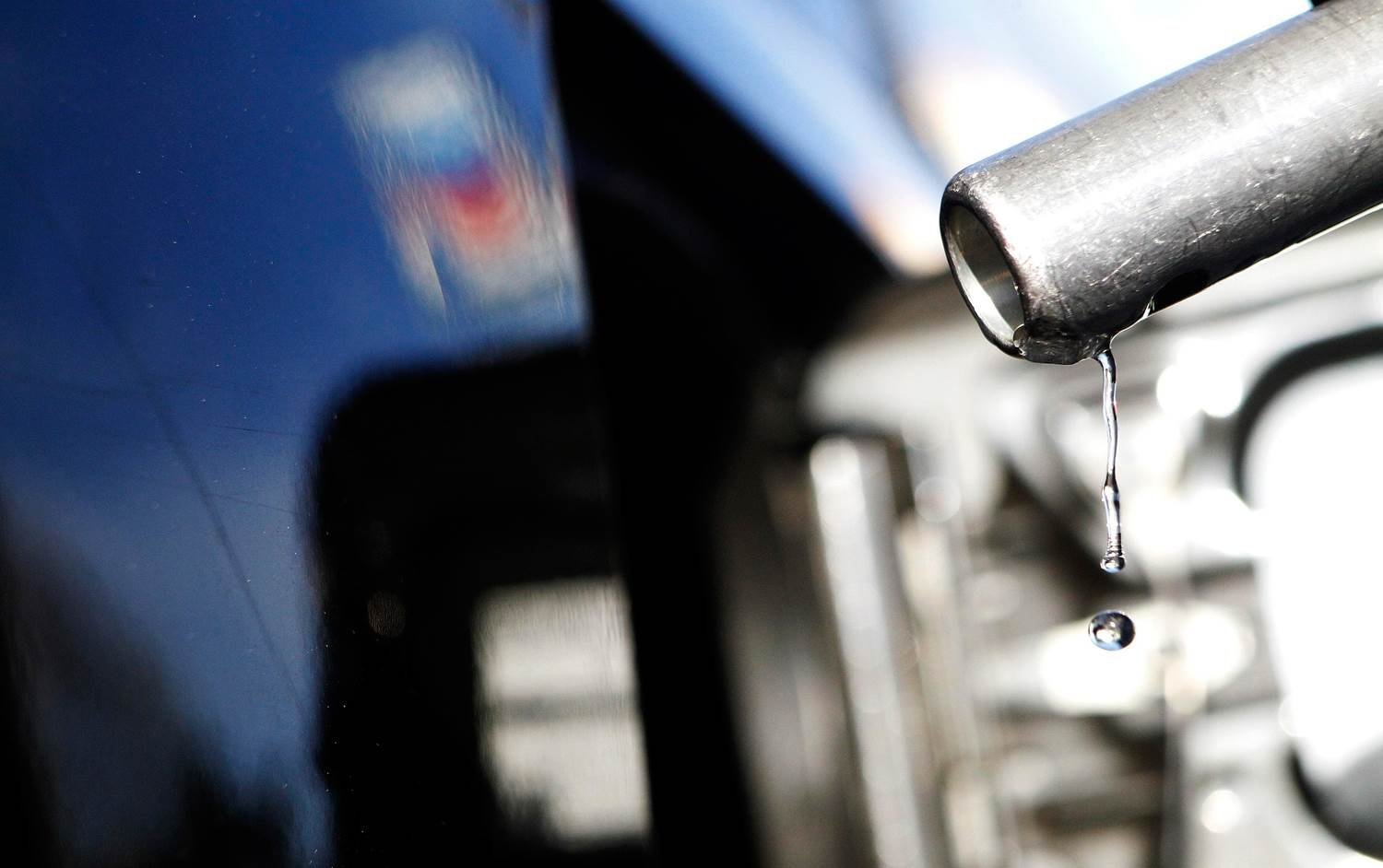 Gas prices fall nearly a dime