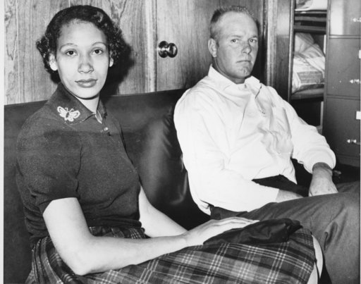 AP picture of Mildred Loving and Richard Loving