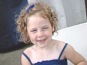 Four-year-old Anna Weitz