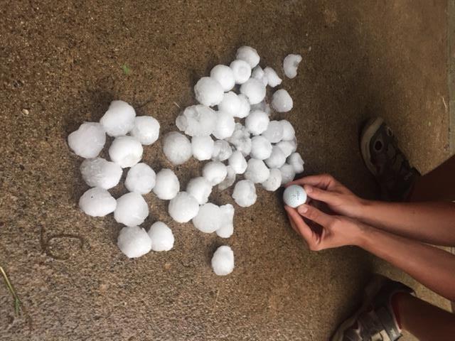 Waterloo hail