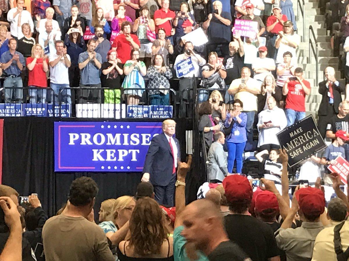 RECAP: President Trump's rally in Cedar Rapids - KWWL