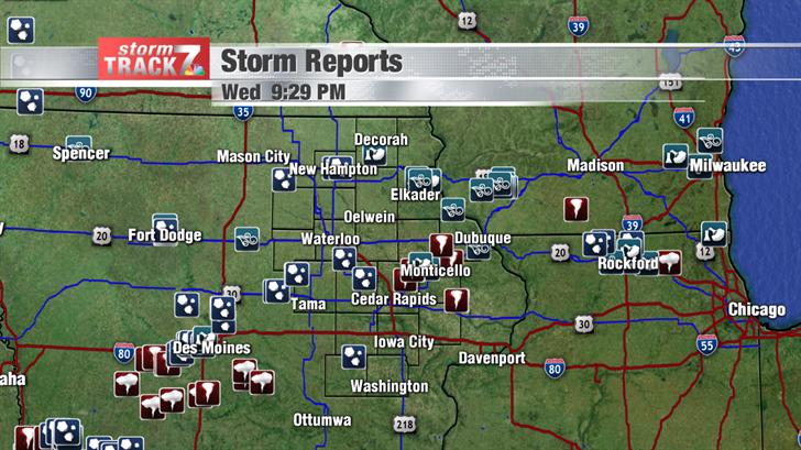 Eastern Iowa Storm Reports