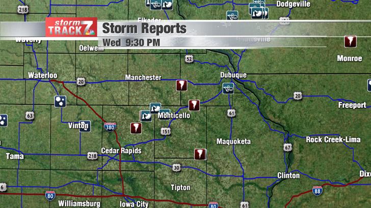 Preliminary Tornado Reports
