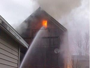 Fire crews responded a little after 6 p.m. Sunday to the 300 block of Valeria Street in Dubuque