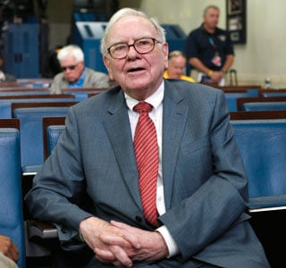 Warren Buffett (AP)