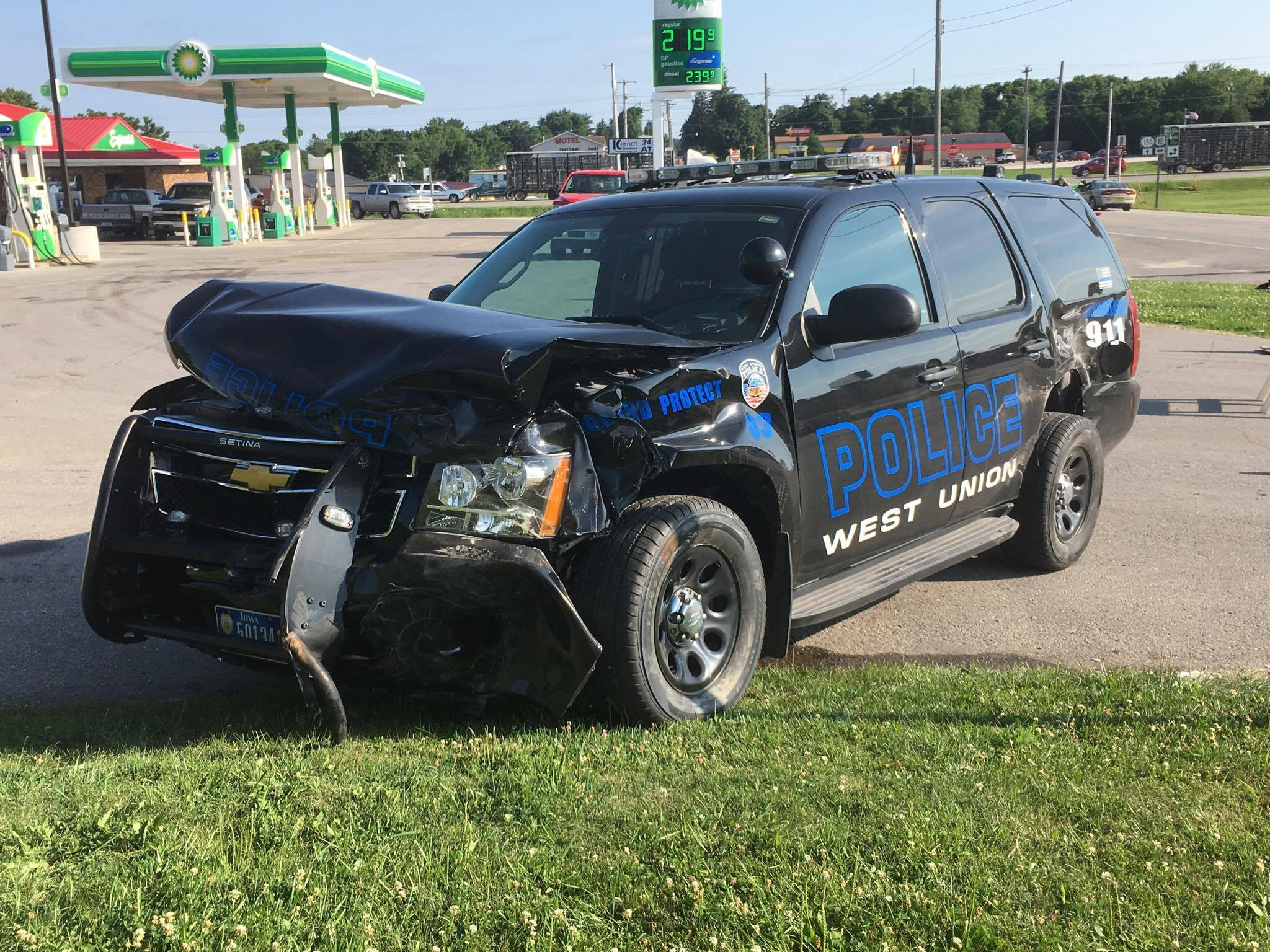 State patrol one person dead in west union crash for West valley motor vehicle