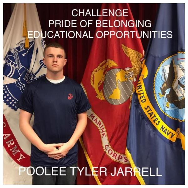 Tyler Jarrell (Courtesy United States Marine Corps South Recruiting/Facebook)