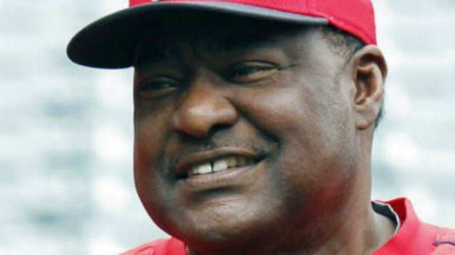 (AP Photo/Alex Gallardo, File). FILE - In this April 23, 2015, file photo, Los Angeles Angels' Don Baylor poses for a photo before a baseball game against the Oakland Athletics, in Anaheim, Calif.