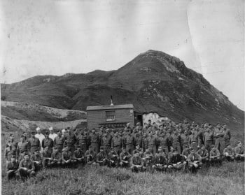 Camp photo in Aleutian Islands, Alaska