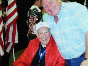 Henry Zeien at Honor Flight