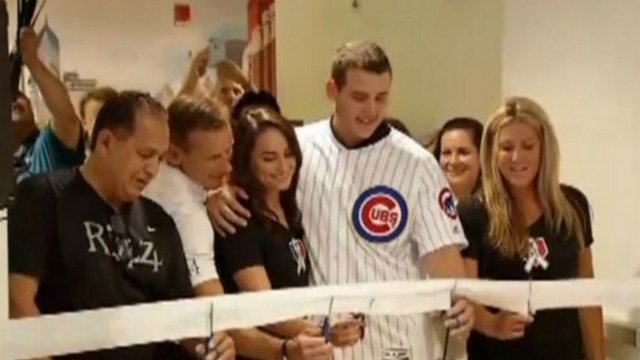 Anthony Rizzo Cries After Donating $3.5 Million To Children's Cancer Center
