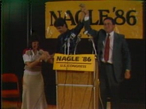 Dave Nagle winning the 1986 Primary