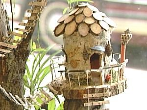 The fairy houses will benefit the Jackson County Humane Society