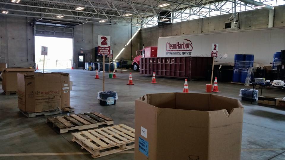 Waste Trac Education Team drop-off (Facebook)