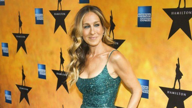 "(Photo by Charles Sykes/Invision/AP, File). FILE - In this Aug. 6, 2015 file photo, Sarah Jessica Parker attends the Broadway opening night of ""Hamilton"" in New York."