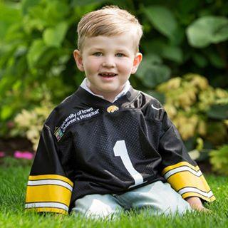 Reed Havlik, 4, has Vanishing White Matter Disease.