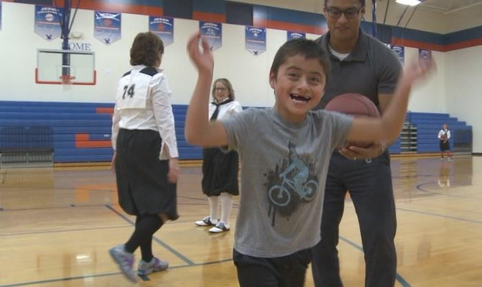 Mason Gonzalez, 6, was born with Angelman Syndrome.