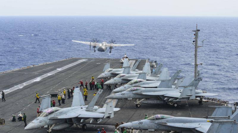 (Mass Communication Specialist 3rd Class Eduardo Otero/U.S. Navy via AP)