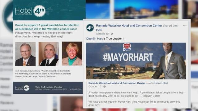 Facebook ads brought into question by Councilman Lind