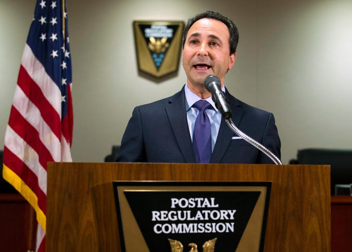 Postal Regulatory Commission Chairman Robert Taub (AP Photo/Jose Luis Magana)