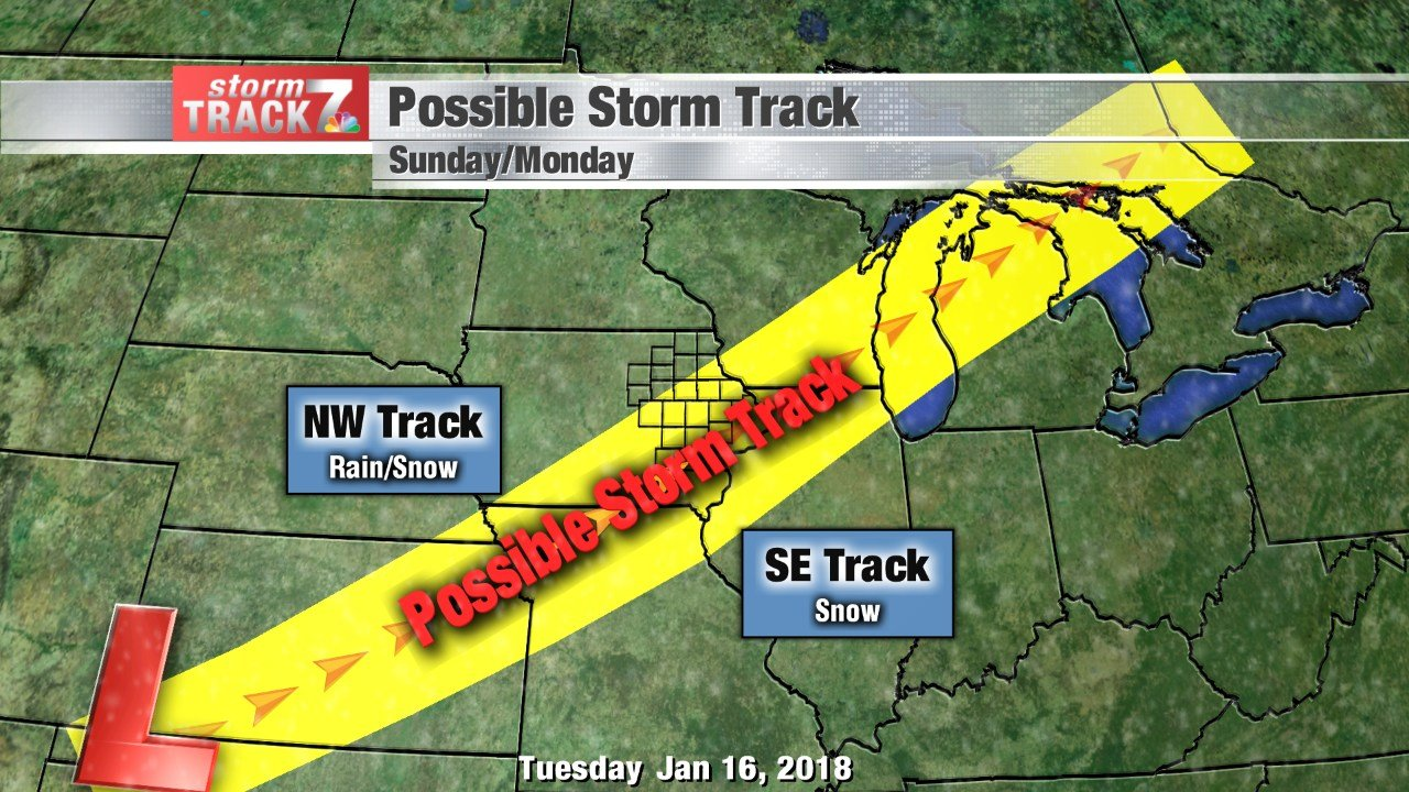 Potential Storm Strack