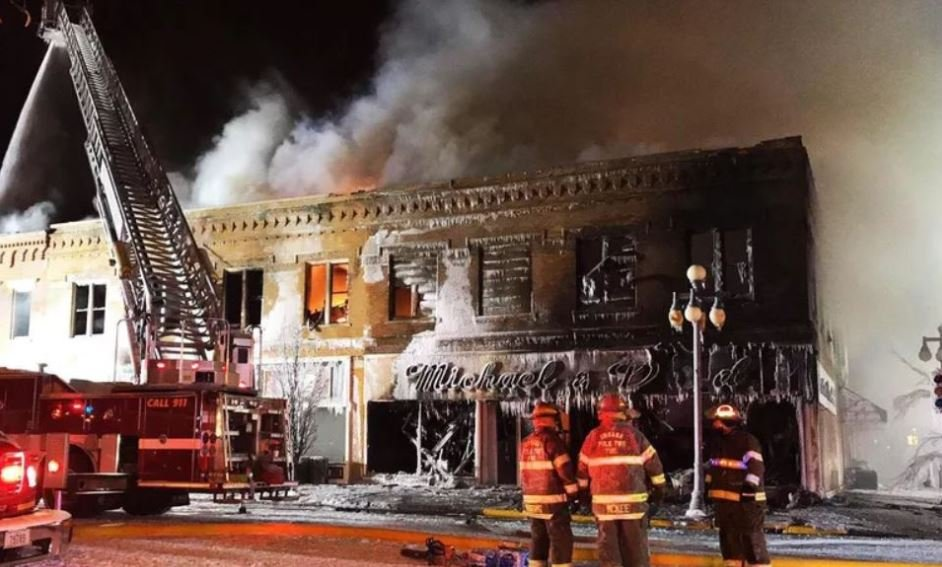 Family Bounces Back After Fire Destroys Business Wvva Tv Bluefield Beckley Wv News Weather