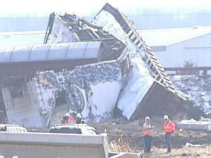 19 of the train's 88 cars went off the track near East Dubuque, Ill.