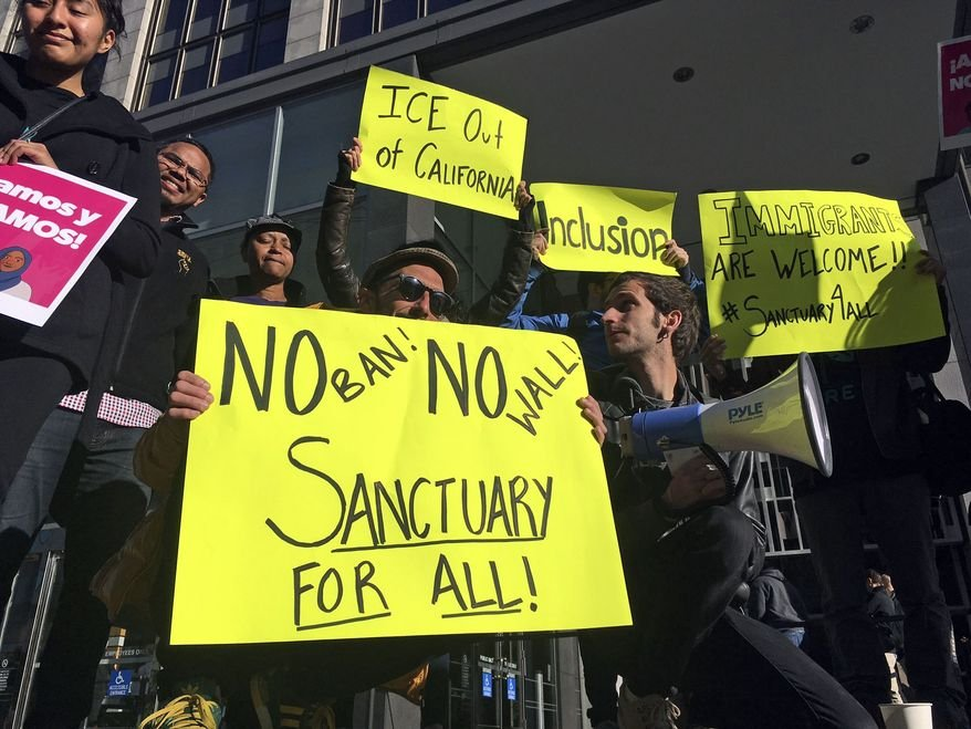 Justice Department sues California over 'sanctuary' laws