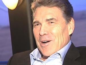 Texas Gov. Rick Perry, in a one-on-one interview with KWWL