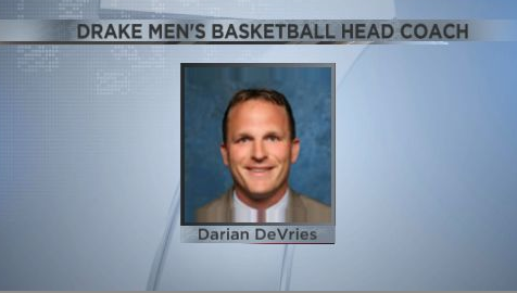 Darian DeVries Named Drake Men's Basketball Coach