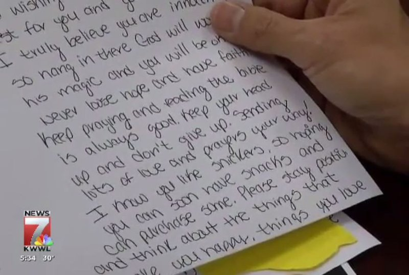 Love Letters Other Fan Mail Sent To Florida Shooting Suspect Kwwl