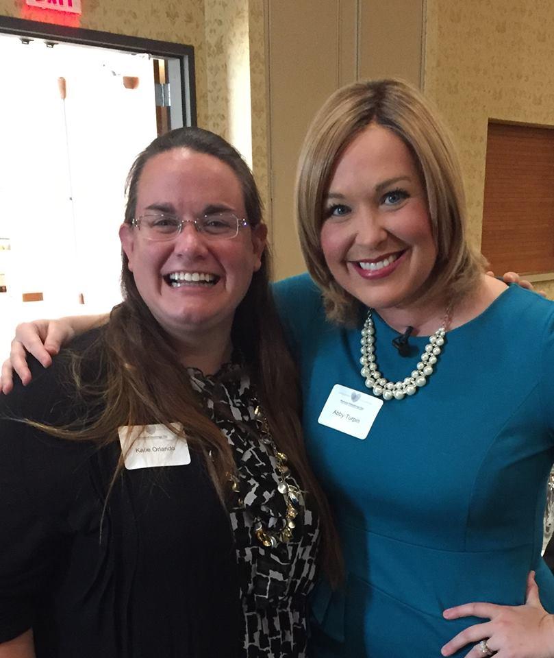 BBBSNEIA CEO, Katie Orlando & KWWL's Abby Turpin