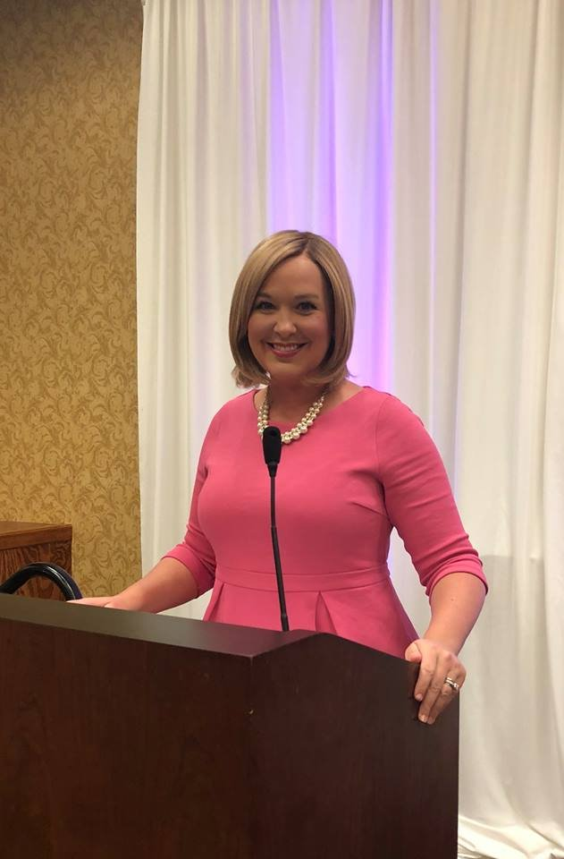 KWWL's Abby Turpin served as emcee for the 2018 Reason to Hope luncheon