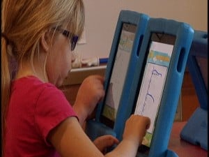 Every classroom at Denver Elementary has at least three iPads.