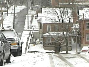 Dubuque's bluffs can shield roads from blowing snow