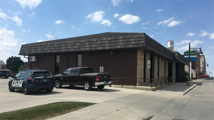 The attempted robbery happened at Freedom Bank in Monona on June 9, 2017.