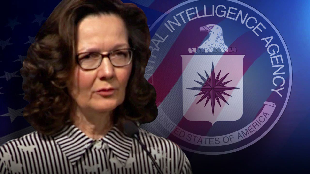 Haspel sworn in as CIA's first female director