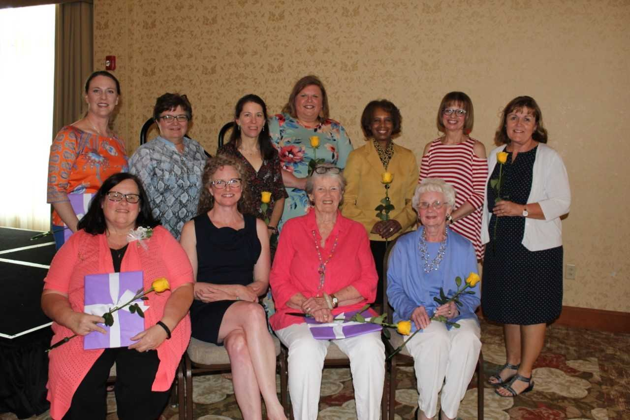 The 2018 Cedar Valley OVATION honorees. From Left to right, top to bottom: Shanlee McNally, Linda Braden, Julie Husband, Mary Janssen, Barbara Culpepper-Scheel, Joy Thorson, Sheila Baird, Cindy Wells, Kate Dunning, Cary Haurum, Mary Esther Pullin.