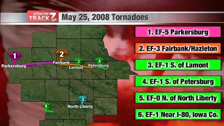 May 25, 2008 tornadoes