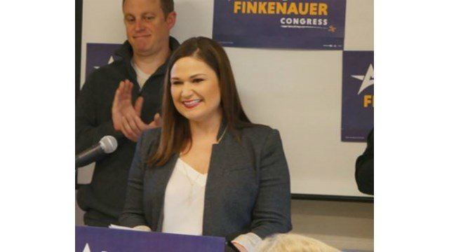 Abby Finkenauer Campaign Website