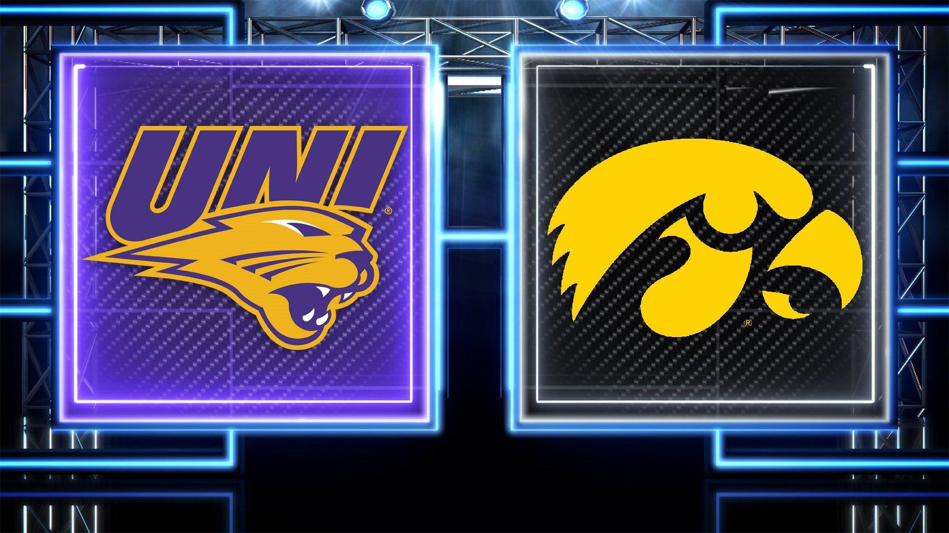 UNI-Iowa football game set for night time kick-off at ...