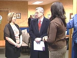 Gov. Branstad met with owners of Unified Therapy Services in Dubuque