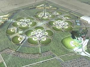 The initial design for the All Star Ballpark Heaven national tournament complex