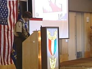 39 eastern Iowa Boy Scouts received their Eagle Award Sunday afternoon