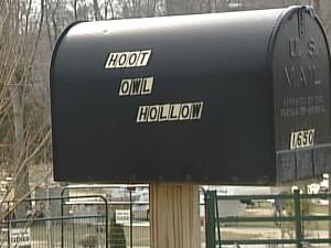 Hoot Owl Hollow Campground is on Middle Road, just west of Seippel Road