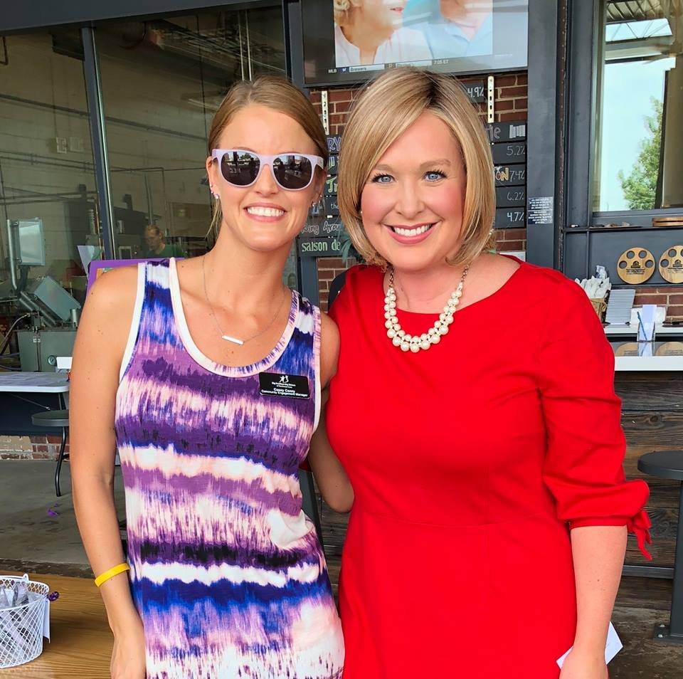 BBBS's Casey Conry & KWWL's Abby Turpin