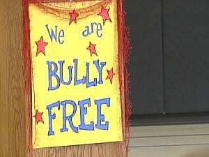 St. Mary's Elementary School in Manchester is working toward becoming bully-free